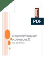 2084 1 Principio Proporcionalidad y Jurisprudencia Tc Felipe Johan Leon Florian