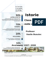 Istorie 9 Curs
