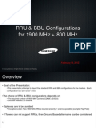 RRU and BBU Configurations 02-08-2012