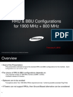 RRU and BBU Configurations 02-08-2012