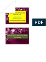 Kemahiran Mengarang-Latihan Menganalisis Struktur Karangan