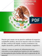 Ventajas Competitivas de Mexico a Nivel Mundial
