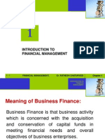 Chapter 01- Introduction to Financial Management (1)