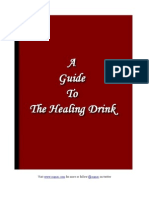 "A Guide To ""The Healing Drink"""