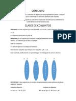CLASES DE CONJUNTOSfunción