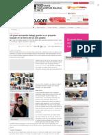 Artículo El viaje de mi tarjeta - El Periódico (27.02.2013)