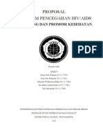 Proposal Program pencegahan Hiv