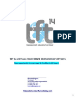 TFT14 Conference - Sponsorship Options