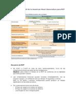 Actualizacion 2010 de La AHA Para RCP