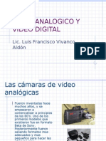 Video Analogico y Video Digital