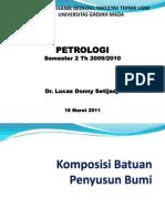Petrologi Batuanbeku Bab 1 2011