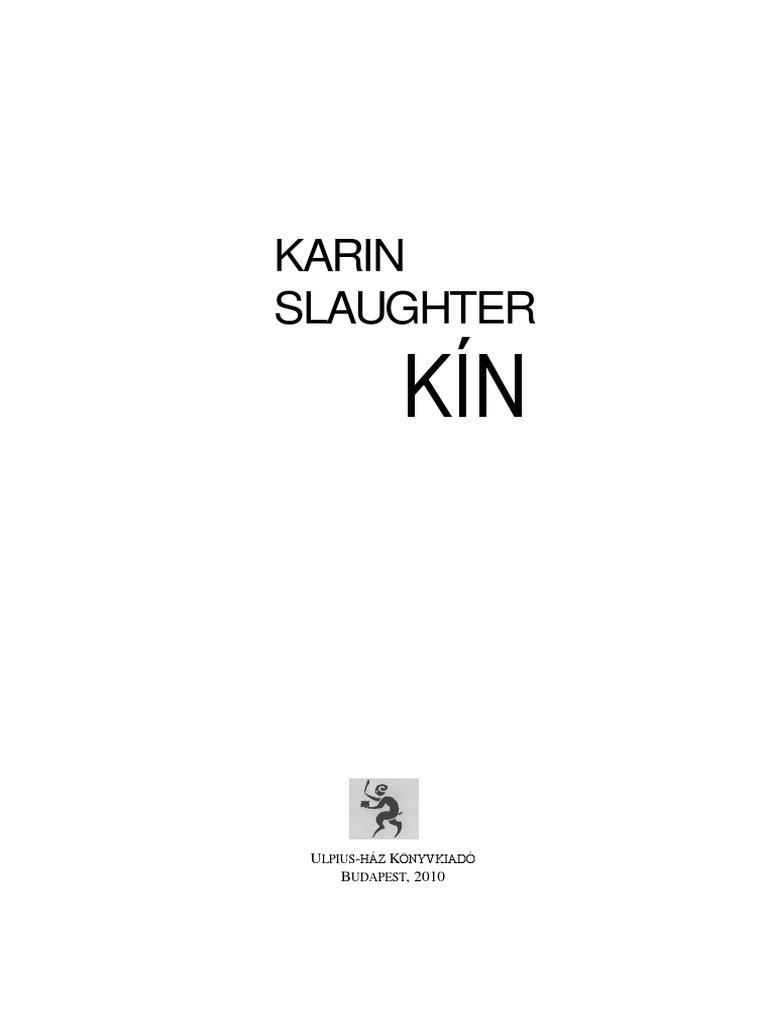 684fdf5f21 Karin Slaughter - Kín