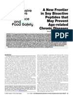 A New Frontier in Soy Bioactive Peptides That Prevent Age-related Chronic Diseases