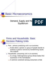 PPT (Demand, Supply and Market Equilibrium) [Autosaved]