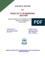 Future Indian Banking- Internet Banking