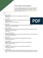 Rumus Fungsi Microsoft Excel Lengkap Contoh Dan Penjelasan
