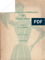 Fundamentals of Patternmaking II