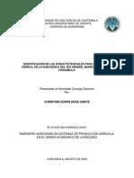 Para La Recarga Hdrica en La Subcuenca Del Ro Grande Municipio de Ipala - Christian Sosa - 2009