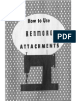 Kenmore Attach Manual