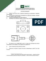 Revisão prova CAD