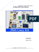 Arduino Mega 2560 Crazy Kit Manual