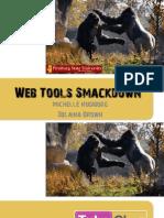 Web Tools Smackdown