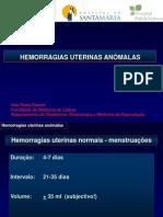 T3 Hemorragias uterinas anómalas