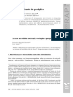 7 Small Business Através do Panóptico - Acesso ao Crédito no Brasil Evolução e Perspectivas