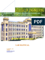 First year Engineering Practices Lab Manual- Author Gandhi.R ,Asso.Professor/EEE,GNANAMANI COLLEGE of ENGINEERING,NAMAKKAL