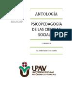 ANTOLOGÍA PSICOPEDAGOGÍA DE LAS CIENCIAS SOCIALES