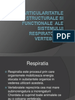 Particularitatile Structurale Si Functionale Ale Sistemului Respirator La