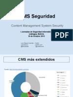 CMS Seguridad
