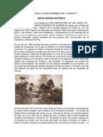Historia de La Ciudad Imperial de Coban