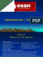 Administración y Estrategia ESAN