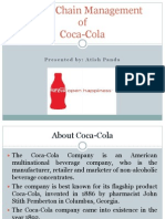 Supply Chain Management of Coca Cola