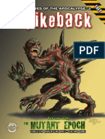 Spikeback Creature 3 the Mutant Epoch