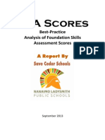 How False FSA data was Created in the SD68 10-Year Facilities Report  | A Save Cedar Schools Report