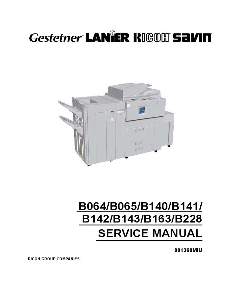 SERVICE MANUAL AF1060-1075-2060-2075-2051(B064-065-140-141-142-143-163-228)  | Image Scanner | Hard Disk Drive