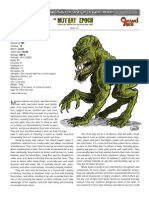 Mauler Mutie-The-Mutant-Epoch-RPG-SOE-creature