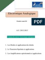 Electronique Analogique _ II1F