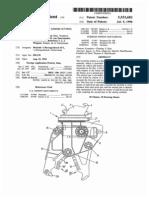 Patent US5533682A- Rachador de cepos