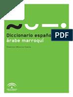 Diccionario español árabe marroquí