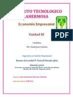Teorc3ada Del Mercado Oferta Demanda y Precio