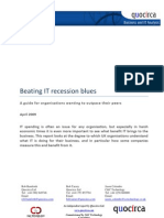 Beating IT recession blues
