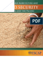 Sustainable Agriculture and Food Security in Asia and the Pacific
