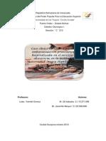 Caso Clinico de Preeclampsia