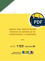 Manual Especificacao Tecnica Sistemas Ar Condicionado