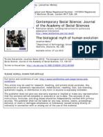 Jonathan Marks - The Biological Myth of Human Evolution.pdf
