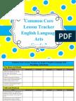 gr  2 ela common core lesson tracker