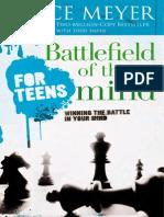Battlefield of the Mind Teens